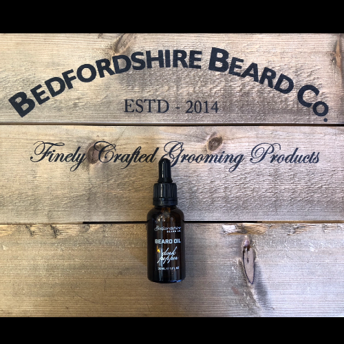 Dark pepper beard oil