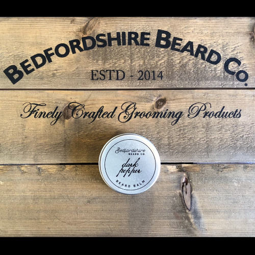 Dark pepper beard balm