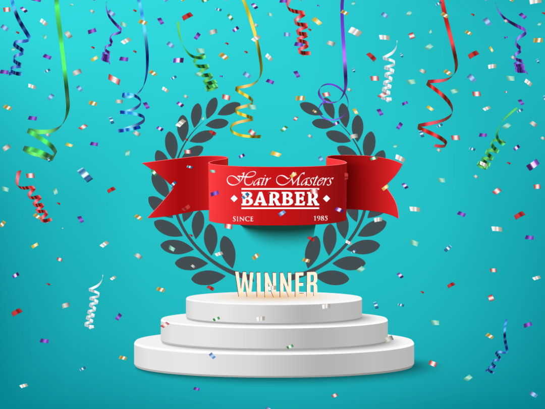 Hair Masters awarded Top 3 Barbers Milton Keynes AGAIN 2019