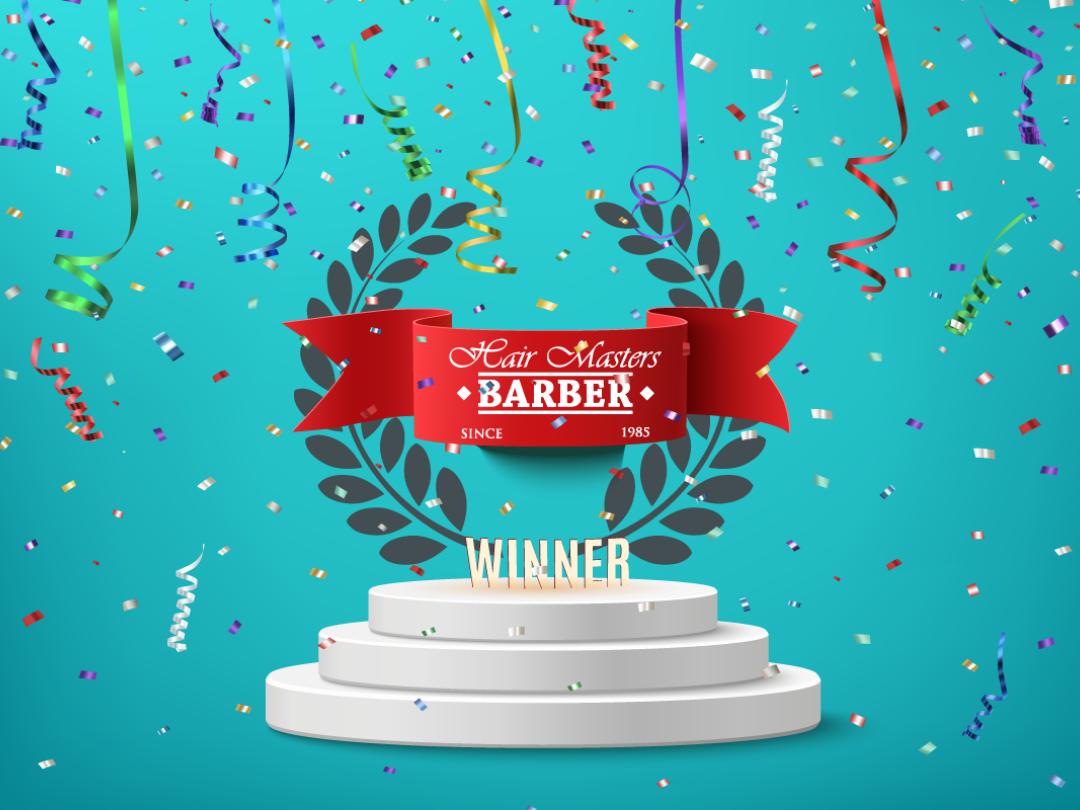 Hair Masters awarded Top 3 Barbers Milton Keynes AGAIN 2019