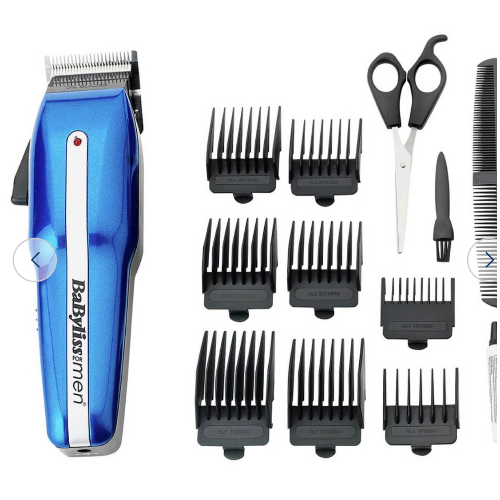 Babyliss for men clippers set